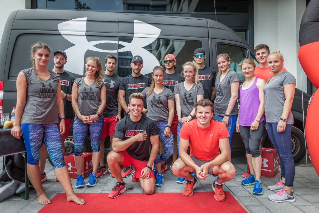 Under Armour Healthbix Launch - R1 Sportsclub